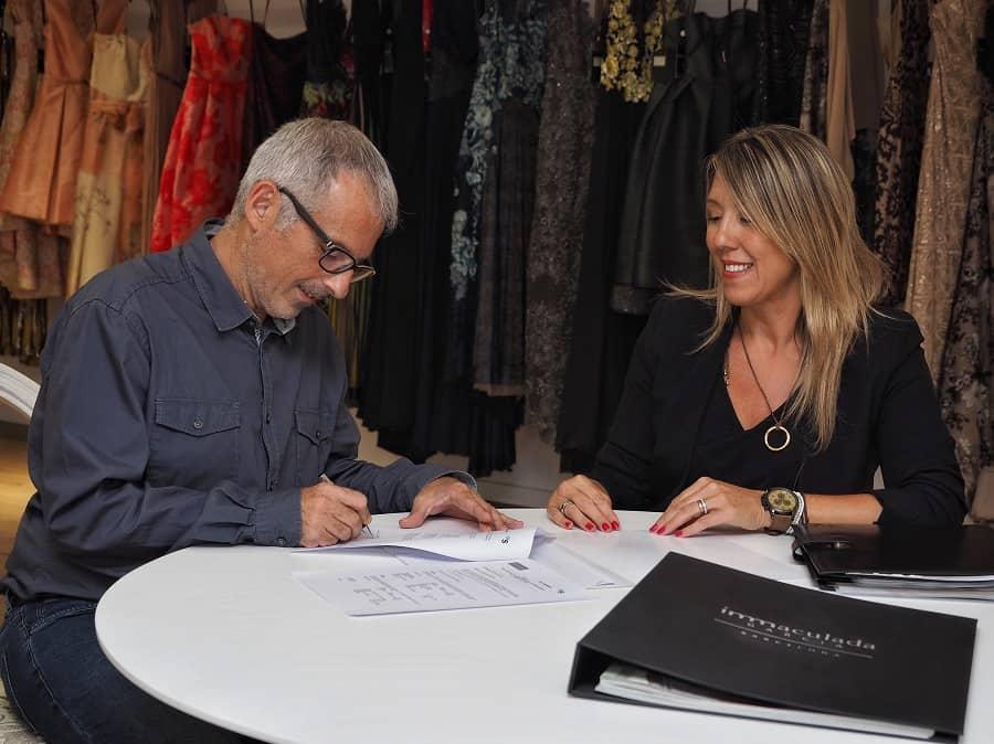 Inmaculada García continúa su expansión con su nuevo atelier en Barcelona