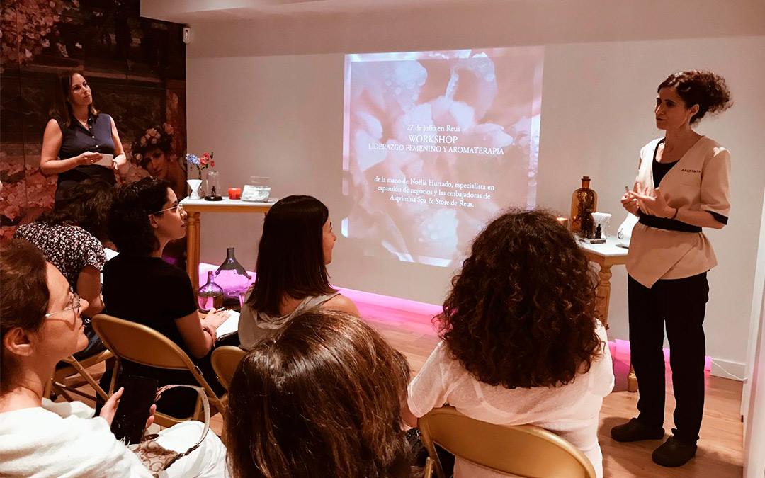 Liderazgo femenino y aromaterapia