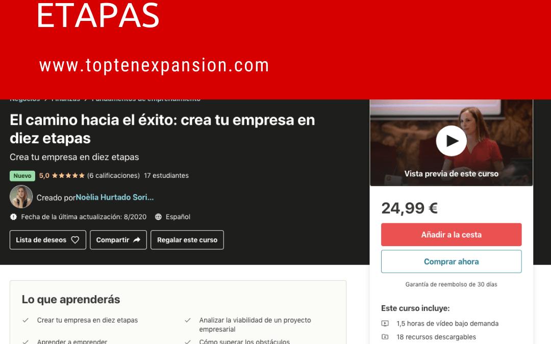 10 ETAPAS PARA HACER REALIDAD TU  PROYECTO EMPRESARIAL